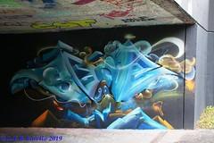 graffiti em Sachseln, Suíça