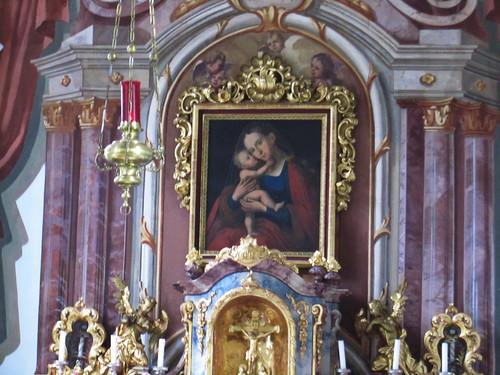 20110912 27 084 Jakobus Afling Kirche Maria Bild