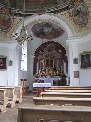 20110912 27 082 Jakobus Afling Kirche Altar