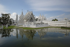 Image by fredMin (fredmin) and image name White Temple photo  about Chiang Rai , Thailand