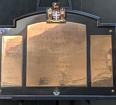 Battle Honours - Royal Newfoundland Regiment - Photo of Sailly-au-Bois