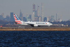 American Airlines (AA) - Boeing 737-800 - N947AN - John F. Kennedy International Airport (JFK) - February 19, 2019 272 RT CRP