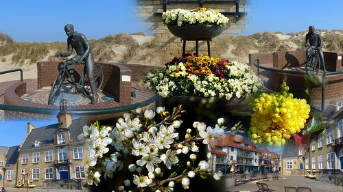 Oostduinkerke lente collage