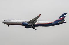 EGLL - Airbus A330-343E - Aeroflot Russian Airlines - VQ-BCU