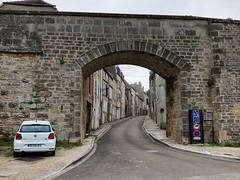 Eines der Stadttore von Langres, Champagne-Ardenne, Frankreich