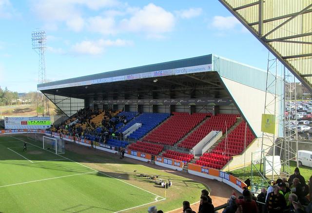 Ormond Stand from Main Stand, McDiarmid Stadium, Perth