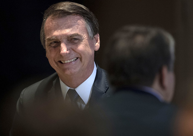 Far-right president Jair Bolsonaro will use rural pension fund as a bargaining chip with the powerful farm lobby - Créditos: Mauro Pimentel/AFP