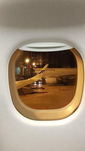 My plane window