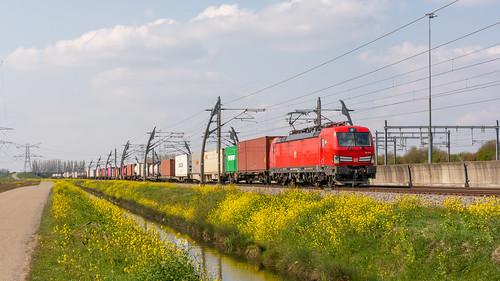 Valburg Betuwe Route DBC 193 358 met Basel Shuttle