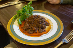 Belted Galloway Mince on Dripping Toast