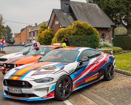 Ford Mustang Day's in Heusden-Zolder. (2019)