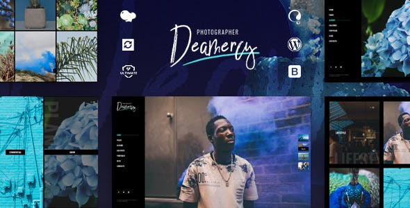 Deamercy v1.0 – Photography Portfolio WordPress Theme