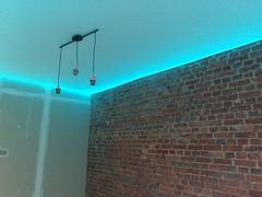 Transparentne i podświetlane sufity3