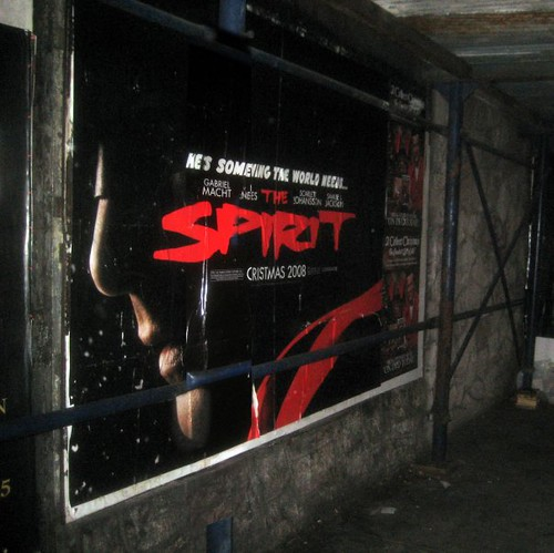 The Spirit Sidewalk Movie Poster - terrible film 2008