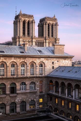Cathédrale Notre-Dame & Hôtel Dieu, Paris
