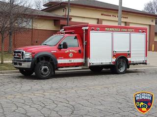 Milwaukee Fire Dept. Air Supply Unit