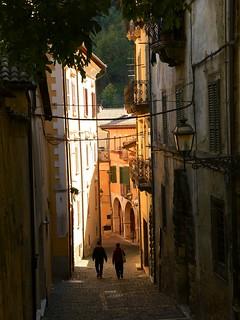 Tagliacozzo - Via Beato Tommaso da Celano