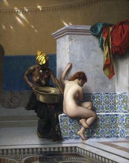Le Bain turc, Jean-Léon Gérôme, musée d'Orsay, 2019