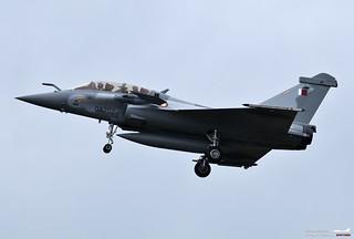 Qatar Emiri Air Force Dassault Rafale DQ QA202