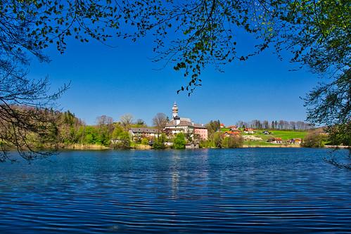 Höglwörth, Upper Bavaria, in April