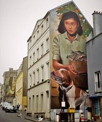 #breakfromfishing for this dog / #streetart by #Evoca1. . #boulognesurmerstreetart #urbanart #graffitiart #streetartfrance #streetartboulognesurmer #urbanart_daily #graffitiart_daily #streetarteverywhere #streetart_daily #mural #ilovestreetart #igersstree
