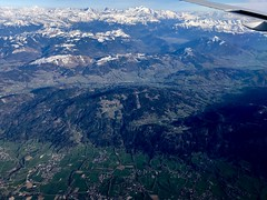 Geneva - 02 Rhone-Alps Region of France from Above