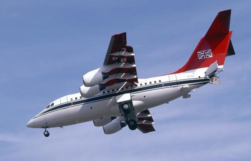 RAF BAe146 CC2
