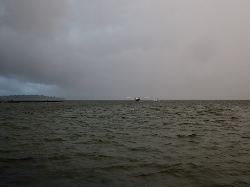 Facing Down Storm over Lake Rotorua