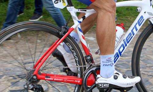 Paris-Roubaix 2019: n°96 Marc Sarreau (FRA) Groupama-Fdj
