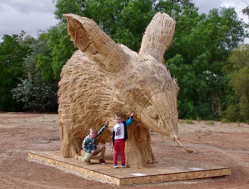 Boys with Straw Bilby