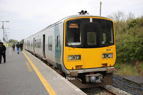 Irish Rail 2815/16 in Manulla Junction.
