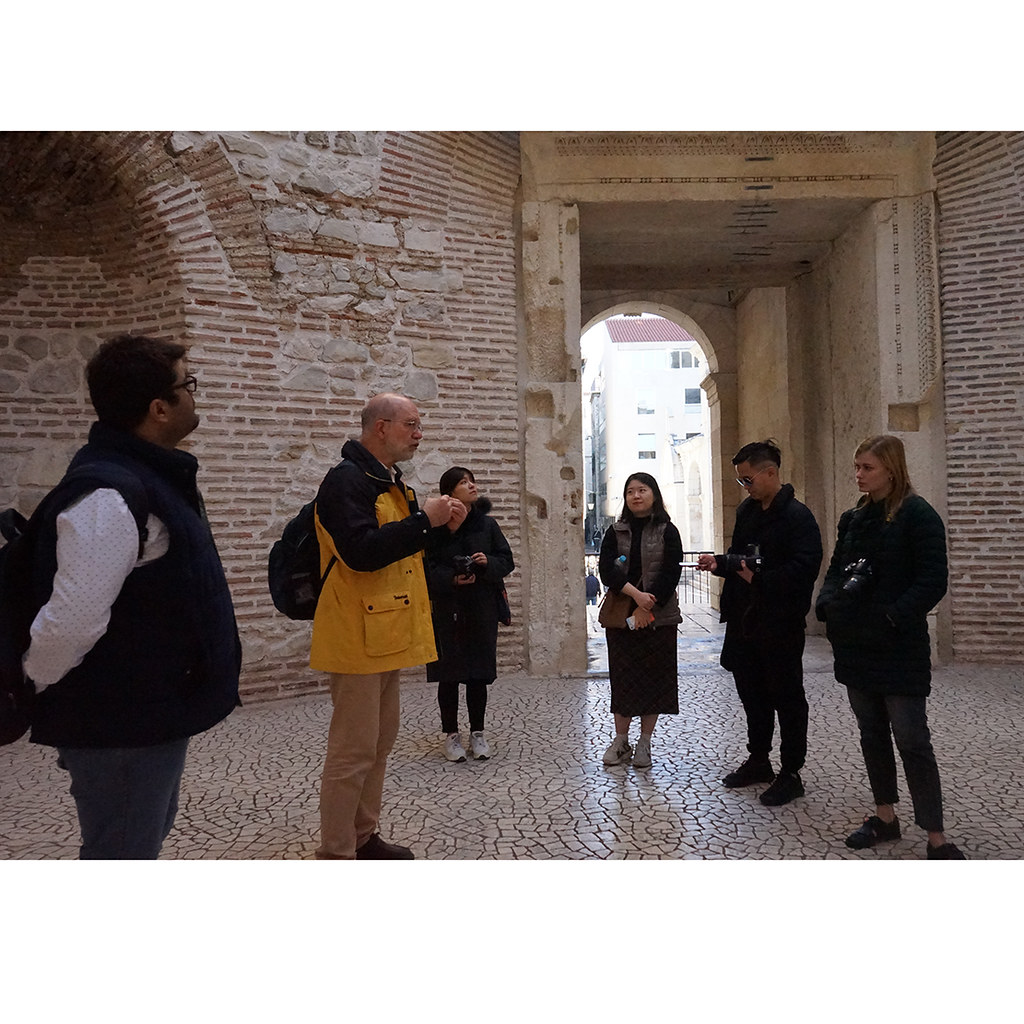 A tour in Split.  photo / Maitai Kunawong (M.S. AAD '19)