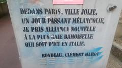 Rondeau, by Clément MArot et C215