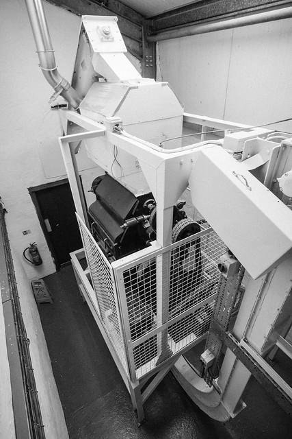 Kilchoman Distillery Porteus Patent Malt Mill
