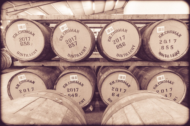 Racked Casks Kilchoman 2017