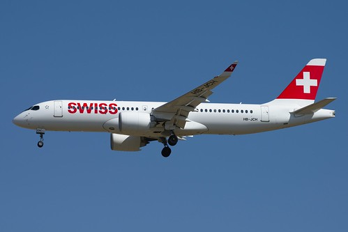 Swiss International Airlines Bombardier CSeries CS300 HB-JCH