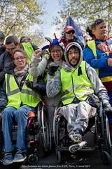 Paris, manifestation du 13 avril 2019 des gilets jaunes, Acte XXII