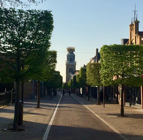 Midstraat in Joure (The Netherlands 2019)