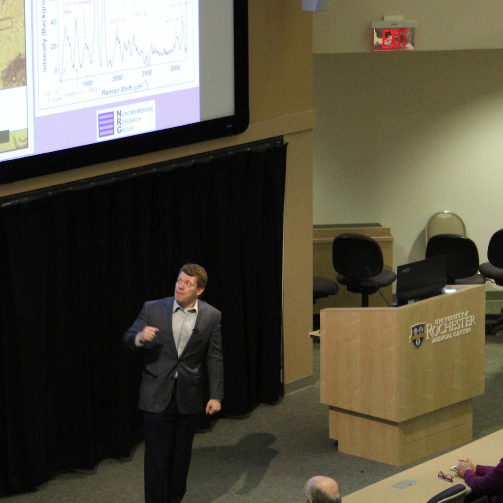 Greg Madejski presenting