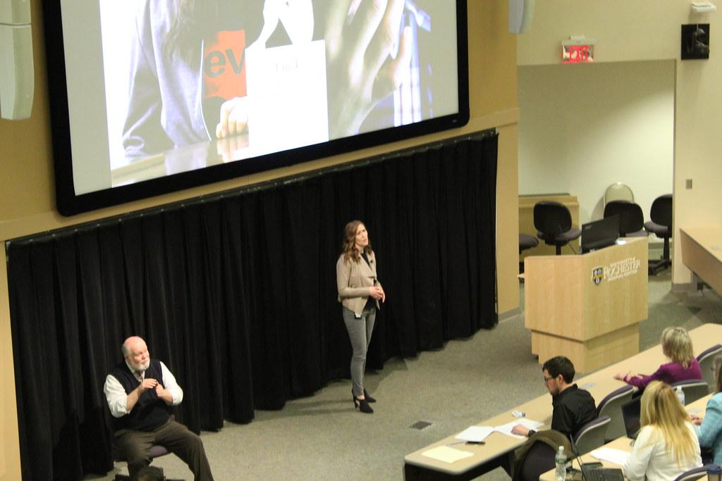 Emily Hangen Presenting