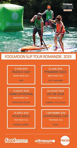 Foolmoon SUP Tour calendar 2019