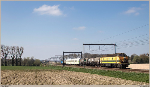 TUC-Rail 5539 + INFRABEL 6315 @ Saintes