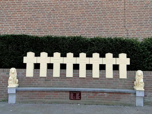 Monument WW2 in Vierlingsbeek