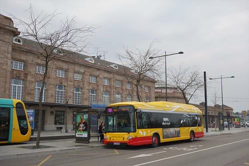 Heuliez Bus GX 337 ELEC n°103  -  Mulhouse, SOLEA