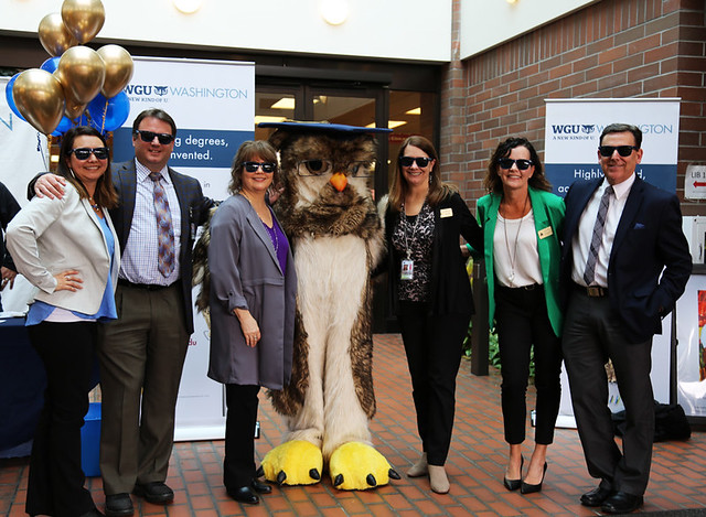 Photo:WGU Partnership Celebration By Lower Columbia College