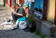 Rennes street writer - Photo of Rennes