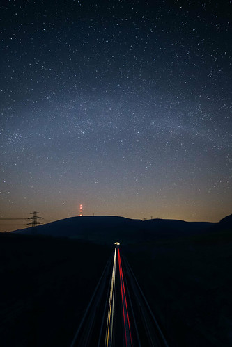 Milkyway over Bless mountain