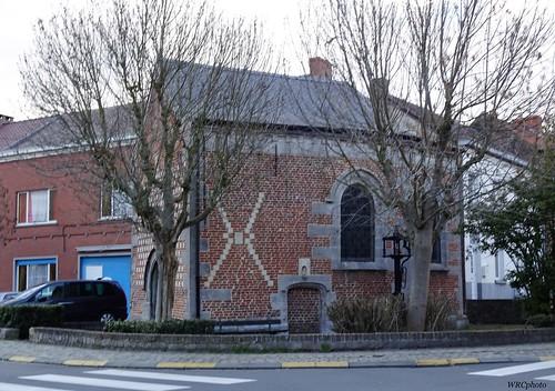 La Chapelle Notre Dame au puits, Trivières, Belgique.