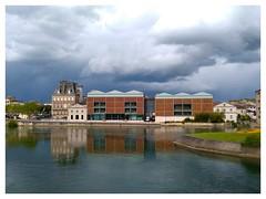 Coup de Jarnac dans le ciel #Jarnac #Charente #Cognac #Pineau #ciel #orage #courvoisier