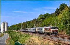 (Archive) 19 08 2018 : BB 15 005 + Corail TER Vallée de la Marne à La Ferté sous jouarre - Photo of Jouarre